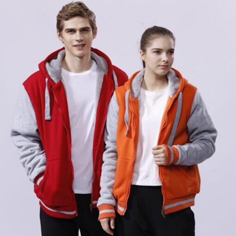Men's Winter Jacket 2019 Large Size Fashion Casual Parkas Hoodie Solid Thick Zipper Personal Clothing Double-sided Wear M-4XL