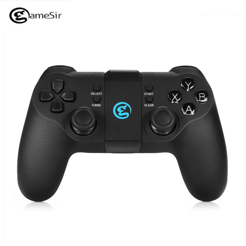 GameSir T1s Bluetooth 4.0 Gamepad Sans Fil Contrôleur de Jeu Jeu pad Télescopique pour Android Windows VR TV Boîte PS3