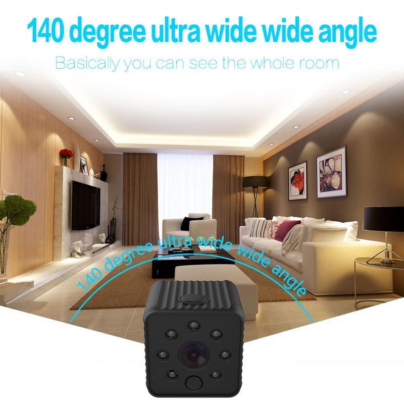 DV18A Mini caméra Wifi Action Cam avec WIFI HD 1080 P vidéo détection de mouvement Vision nocturne photographie soutien téléphone examen à distance