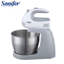 Original Multifunction Table Electric Food Mixers Dough Mixer Egg Beater 220v Food Blender for Kitchen Sonifer(China)