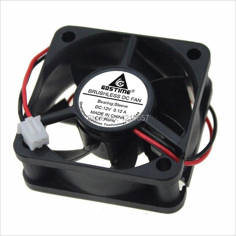 20 Pieces LOT Gdstime Cooler 5CM 5020 50mm 50x50x20mm DC 12V 2Pin Brushless Cooling Fan