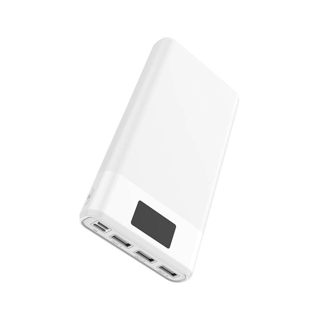 30000 mAh batterie externe lourde banque d'alimentation de chargeur téléphone batterie externe 3USB LED affichage batterie externe pour Xiaomi iPhone Samsung Huawei