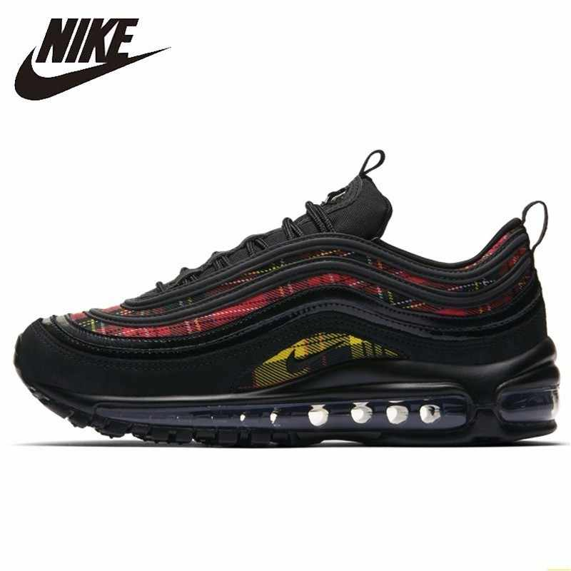 Nike Air Max 97 White Red Bullet Men Running Shoes