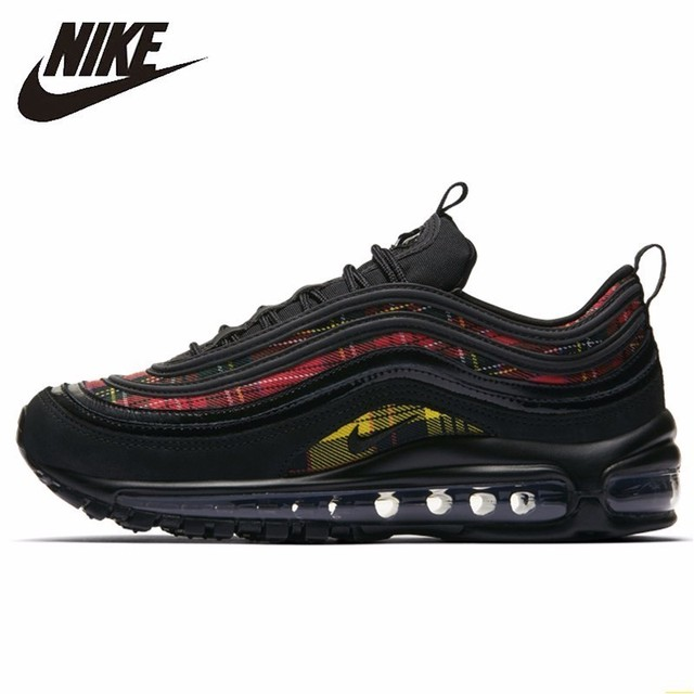 83a0e84f9d Nike Air Max 97 Bullet New Arrival Women's Running Shoes Motion Casual  Shoes Air Cushion Outdoor Sports Sneakers#AV8220 - 001