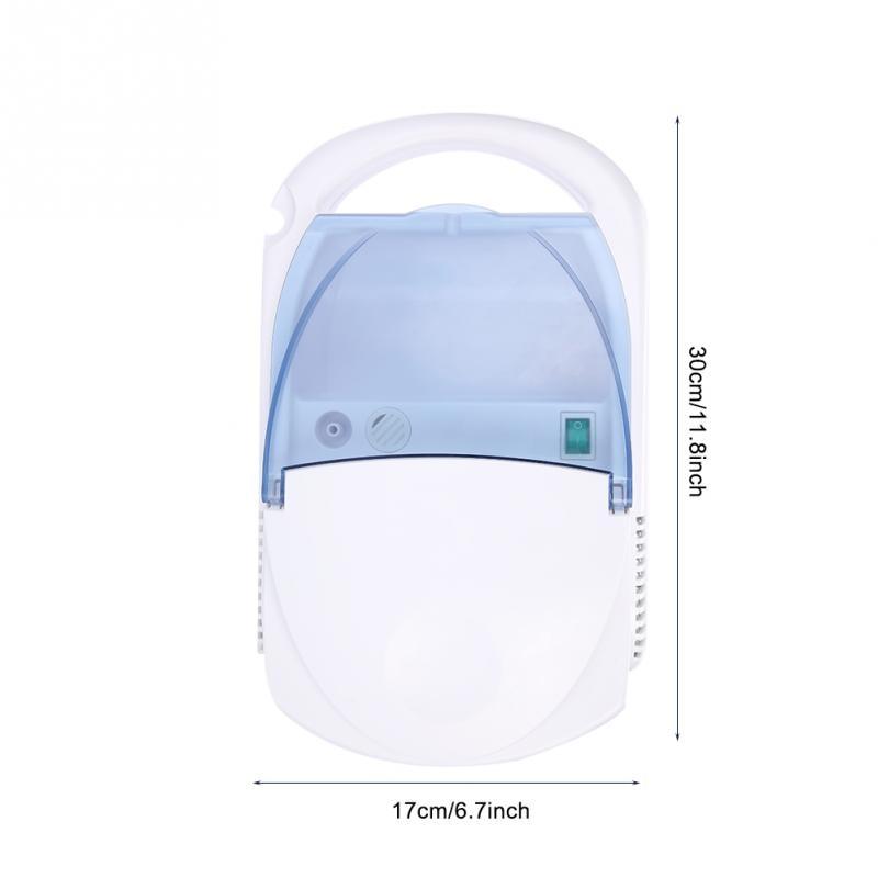 220V EU Plug Portable Nebulizer Compressor Machine System Kit Inhaler Spray Steamer Humidifier Kit Health Care Children Hot-in Facial Steamers from Home Appliances    3