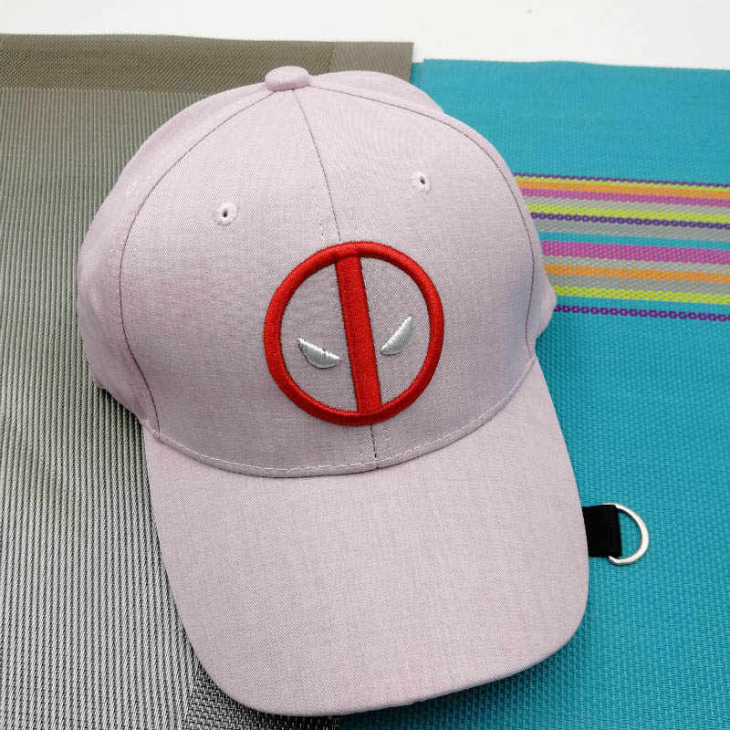 4c527fad0c881 ... Movie Deadpool Super Hero Cap Unisex Adjustable Cosplay Hats Wade  Winston Wilson ...
