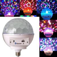 4 RGB LED Lamp Multi color White Light 550Lumens Music Control Smart 265V Remote Bulbs 0 10M 85 Bluetooth Bulb