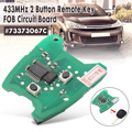 433 МГц 2 кнопки дистанционного ключа FOB печатная плата для Peugeot 307/Citroen 73373067C
