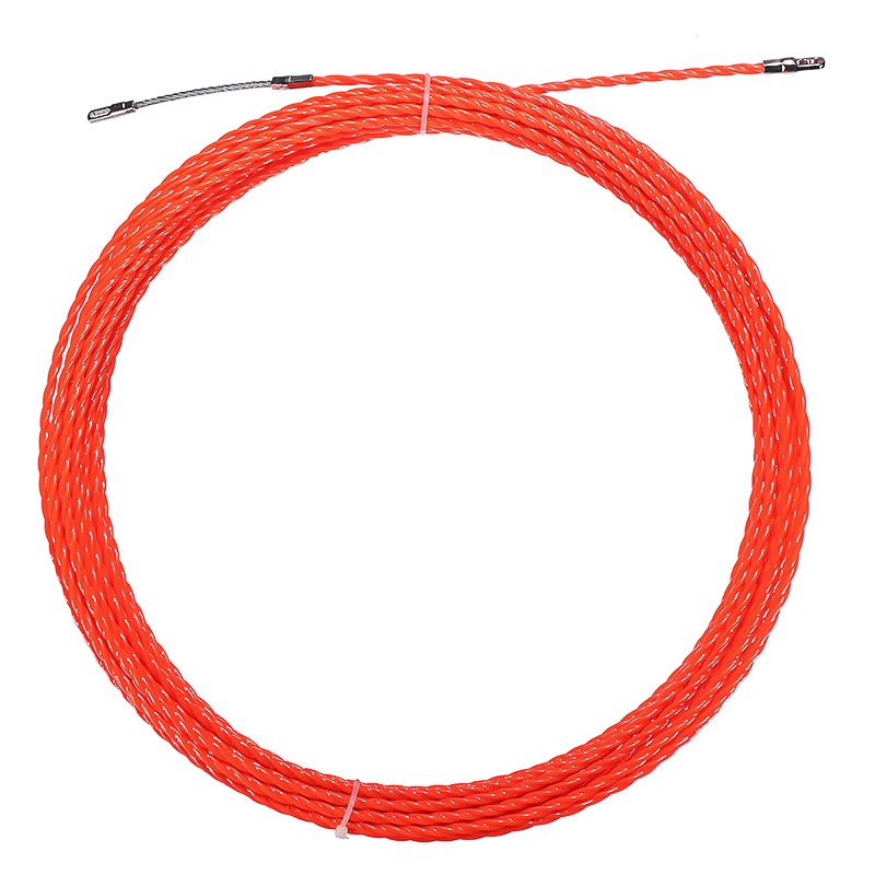 30M Nylon Snake Cable Push Puller Fish Tape Reel Conduit Ducting Rodder Pulling Puller Wire Guide Accessories 4/4.5mm Red30M Nylon Snake Cable Push Puller Fish Tape Reel Conduit Ducting Rodder Pulling Puller Wire Guide Accessories 4/4.5mm Red