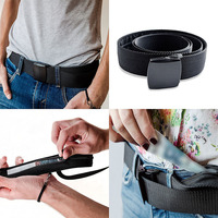 Money Belt Wallet Travel Secret Compartment Belt Anti Theft Money Bag Portable Hiding Stash Wallet Belt belt