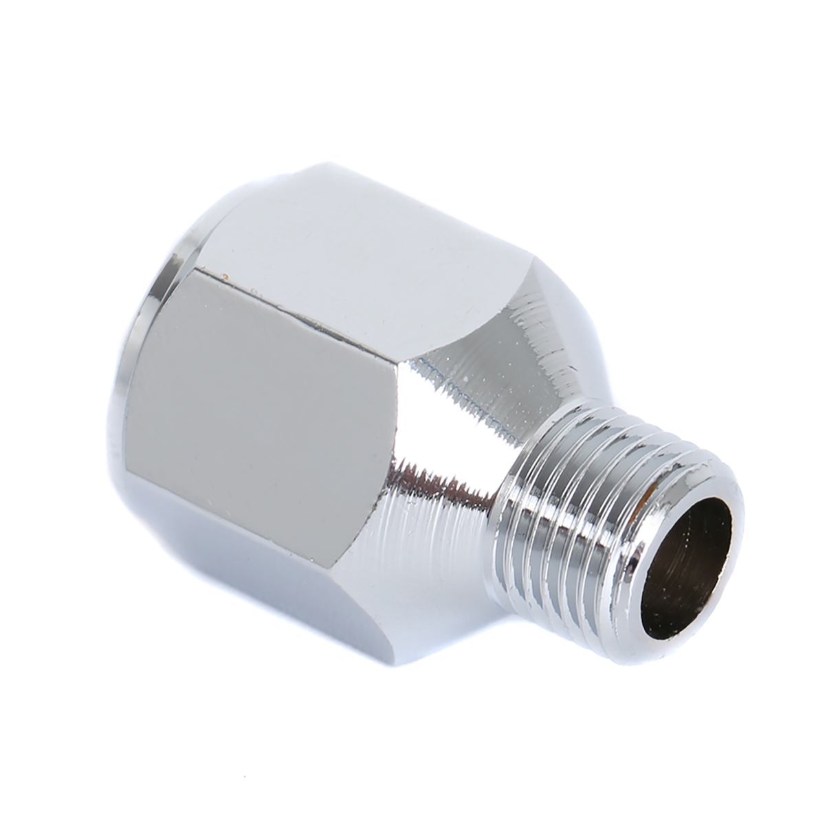 Airbrush Air Hose Adaptor Fitting Connector 1/4 BSP Female to 1/8 BSP Male Airbrush Hose Adapter Sprayer Tool Accessories
