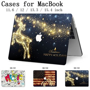 Image 1 - For MacBook Air Pro Retina 11 12 13.3 15.4 Inch For Laptop Sleeve For Notebook MacBook Case With Screen Protector Keyboard Cove