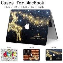 Pour MacBook Air Pro Retina 11 12 13.3 15.4 pouces pour pochette pour ordinateur portable pour ordinateur portable étui MacBook avec écran protecteur clavier Cove