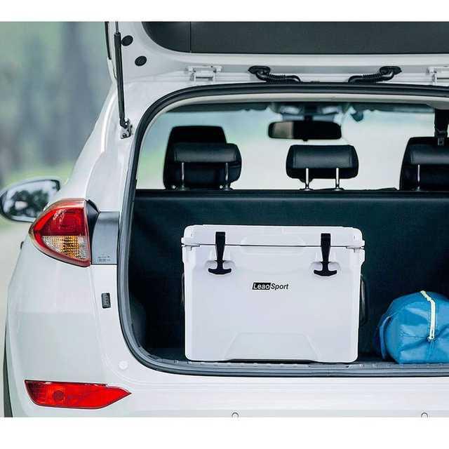 Outdoor Car Storage >> Xiaomi Leao 25qt 22 5l Outdoor Car Picnic Incubator Storage Box Portable Refrigeration Box For Outdoor Travel Car Boat