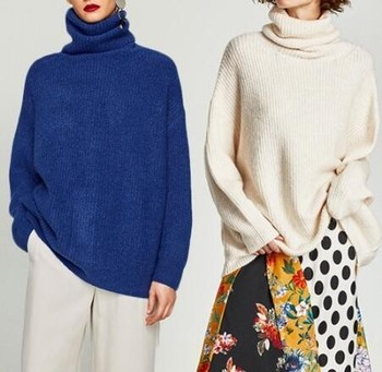 Oversized Turtleneck Sweater 5