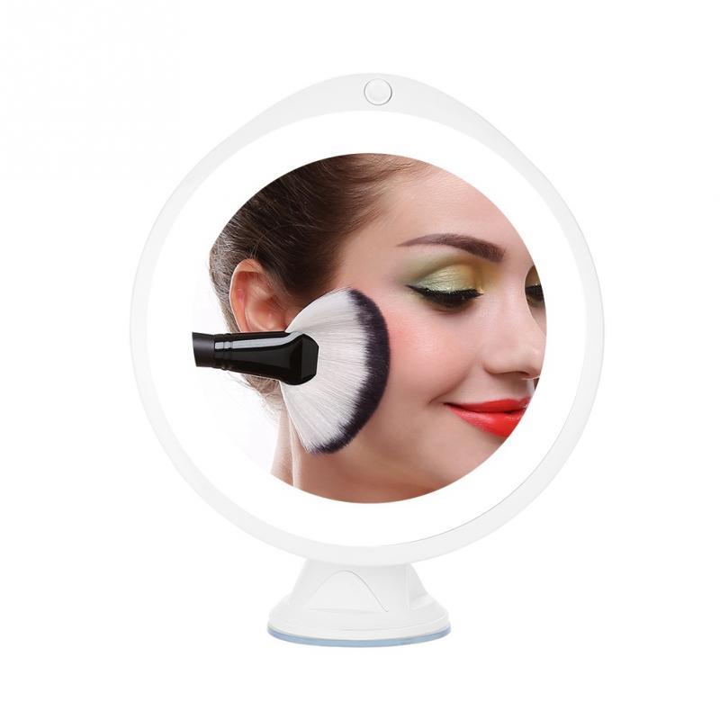 Schminkspiegel Schönheit & Gesundheit Neue Mode 14 Led-leuchten Make-up Eitelkeit Spiegel 7x Lupe 360 Rotierenden Tabletop Vergrößerungs Mirrorsfolding Verstellbare Spiegel Mit Einem LangjäHrigen Ruf