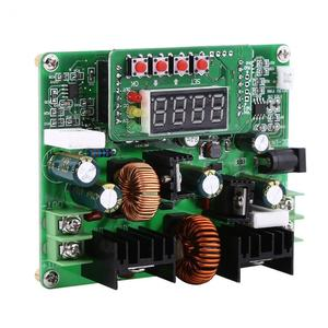 Image 4 - DC DC الرقمية 2 في 1 الجهد خطوة المتابعة تنحى وحدة دفعة قابل للتعديل محول مجلس 38 فولت 6A جودة عالية