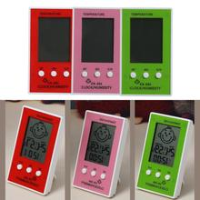 3 Color Indoor Outdoor LCD Digital Thermometer Hygrometer Baby Room Temperature Instruments Precision Humidity Tester