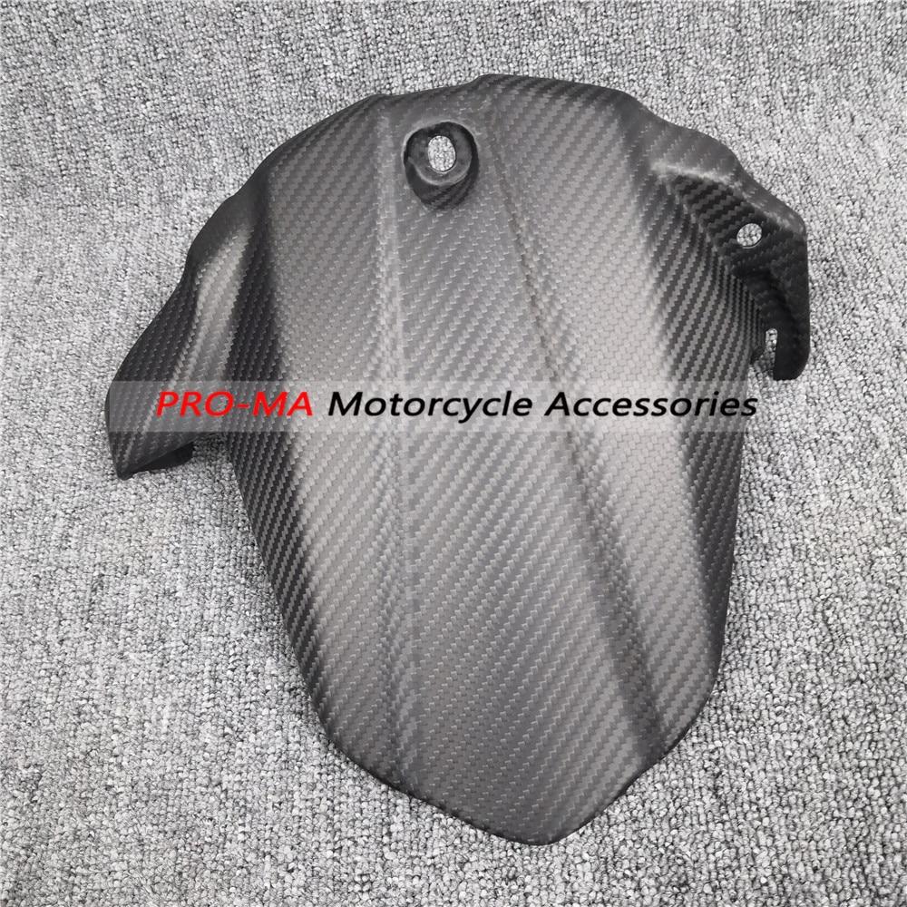 Motorcycle Rear Hugger In Carbon Fiber For Suzuki GSX-S1000 GSXS1000, GSX-S1000F GSXS1000F 2015+ Twill Matte