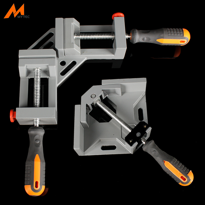 90 Degree Quick Release Corner Clamp Right Angle Welding Woodworking Photo Frame Clamping Tool