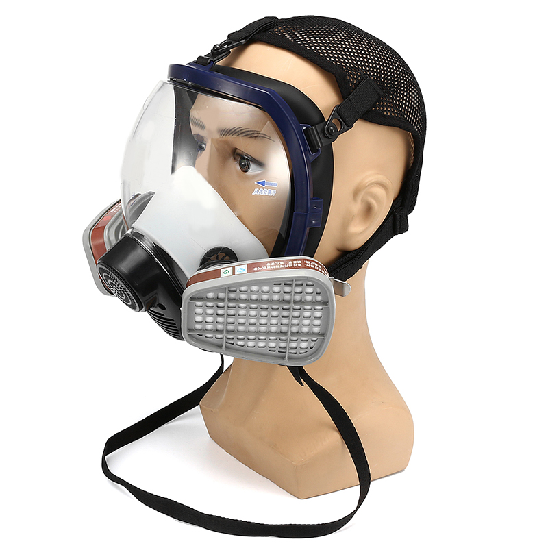 15 In 1 Facepiece Respirator Painting Spraying For 3m/ 6800 Full Face Gas Mask Worker Workplace Safety Protective Mask Supply Back To Search Resultssecurity & Protection