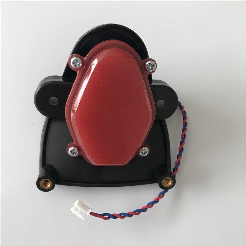 Feu arrière d'origine pour Ninebot One Z10 Z6 auto équilibrage Scooter monocycle électrique vol stationnaire planche à roulettes pièces de feu arrière