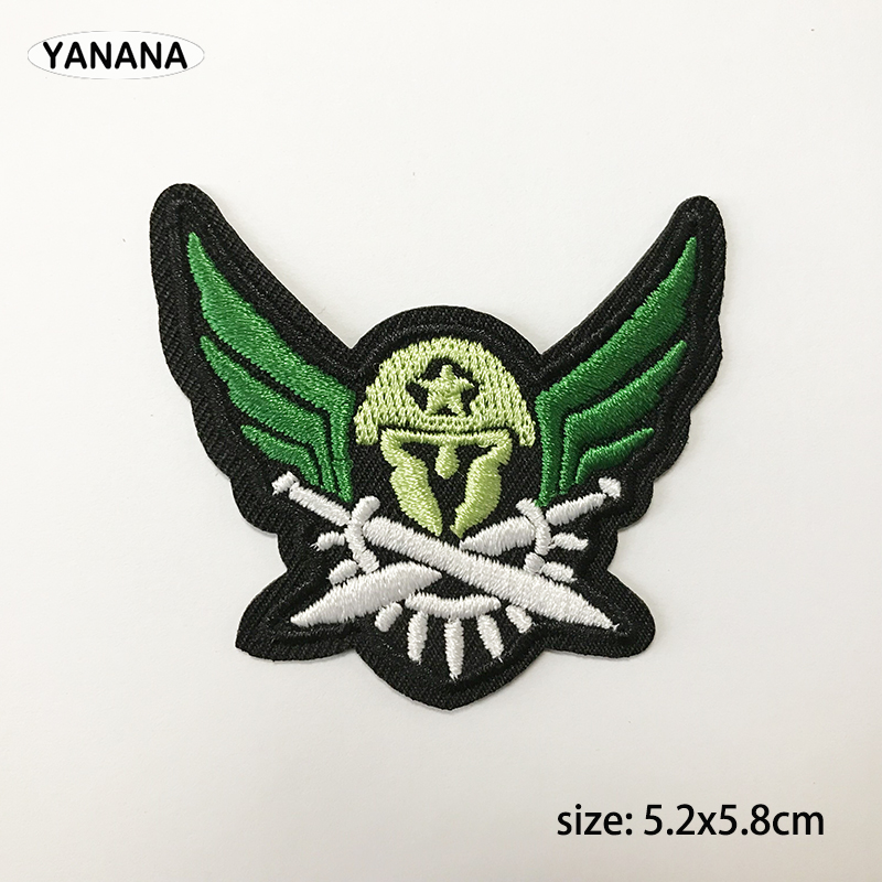 Army Badge Iron on stickers Patches for Clothes Hat DIY Individual clothing stickers in Badges from Home Garden