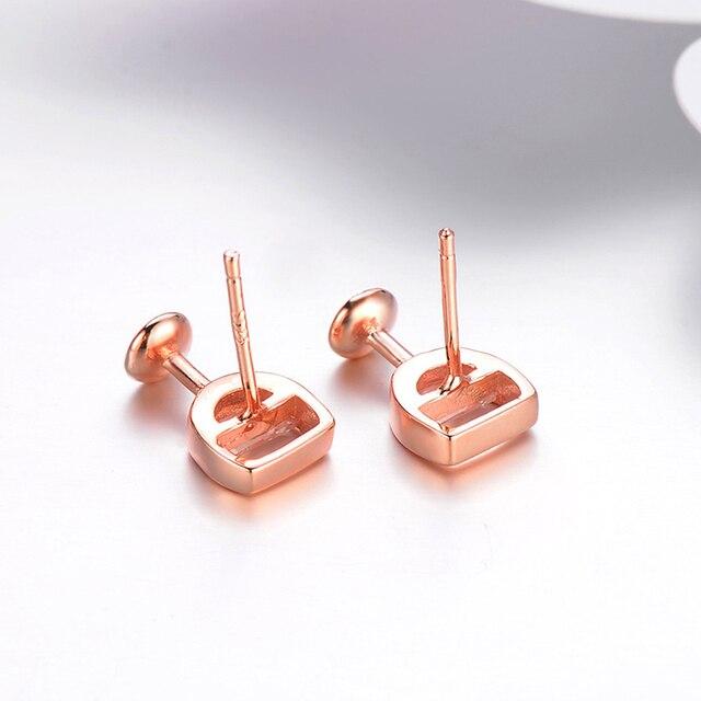Moda simples brincos femininos oco vidro de vinho cúbico zircônia orelha brincos brincos jóias presentes 6