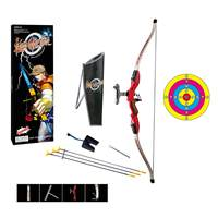Children Outdoor Shooting Sports Toy Kit Emulational Bow and Arrow Set for Kid