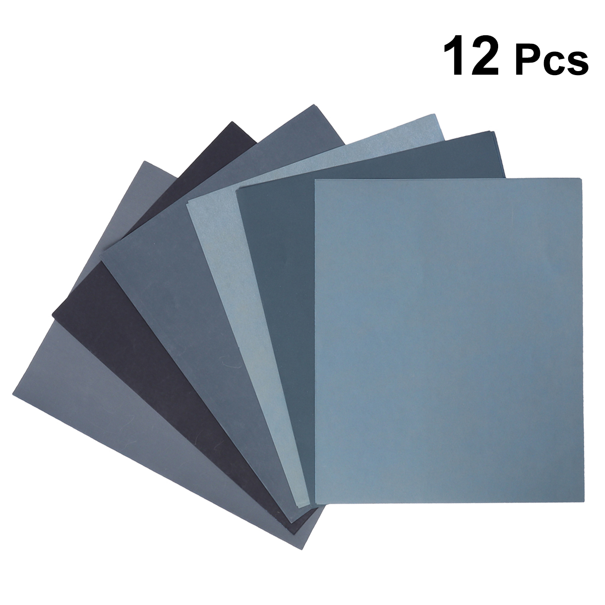Sandpaper For Metal >> Us 7 45 44 Off 12 In 1 Dry Wet Sandpaper Assorted Abrasive Sand Paper For Wood Metal Automotive Sanding Furniture And Wood Turning Finishing In