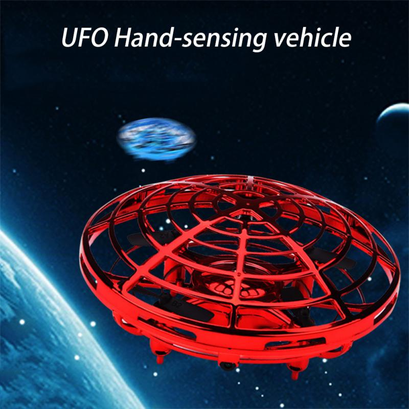 Anti-collision Hand UFO Ball Flying Aircraft Drone For Children Boys 3