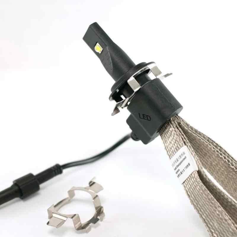 VODOOL 2Pcs H7 LED רכב פנס הנורה בסיס מחזיק מתאם שקע עבור מרצדס-בנץ BMW אאודי אוטומטי פנס הר Stand עבור ניסן