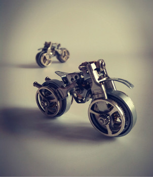 Motorcycle-Assembly-Model-Kit-Metal-Steampunk-DIY-Toys-Hobby-Tools-Creative-Gift-Meccano-Free-Shipping