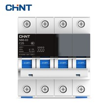 CHINT Miniature Circuit Breaker Overload Protection TaiChi NB6-63 4P Series Household Air Switch 25A 32A 40A 50A 63A