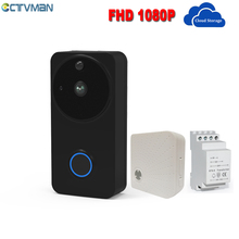 CTVMAN Wifi Video Doorbell 1080P Cloud Smart Doorbell Batter
