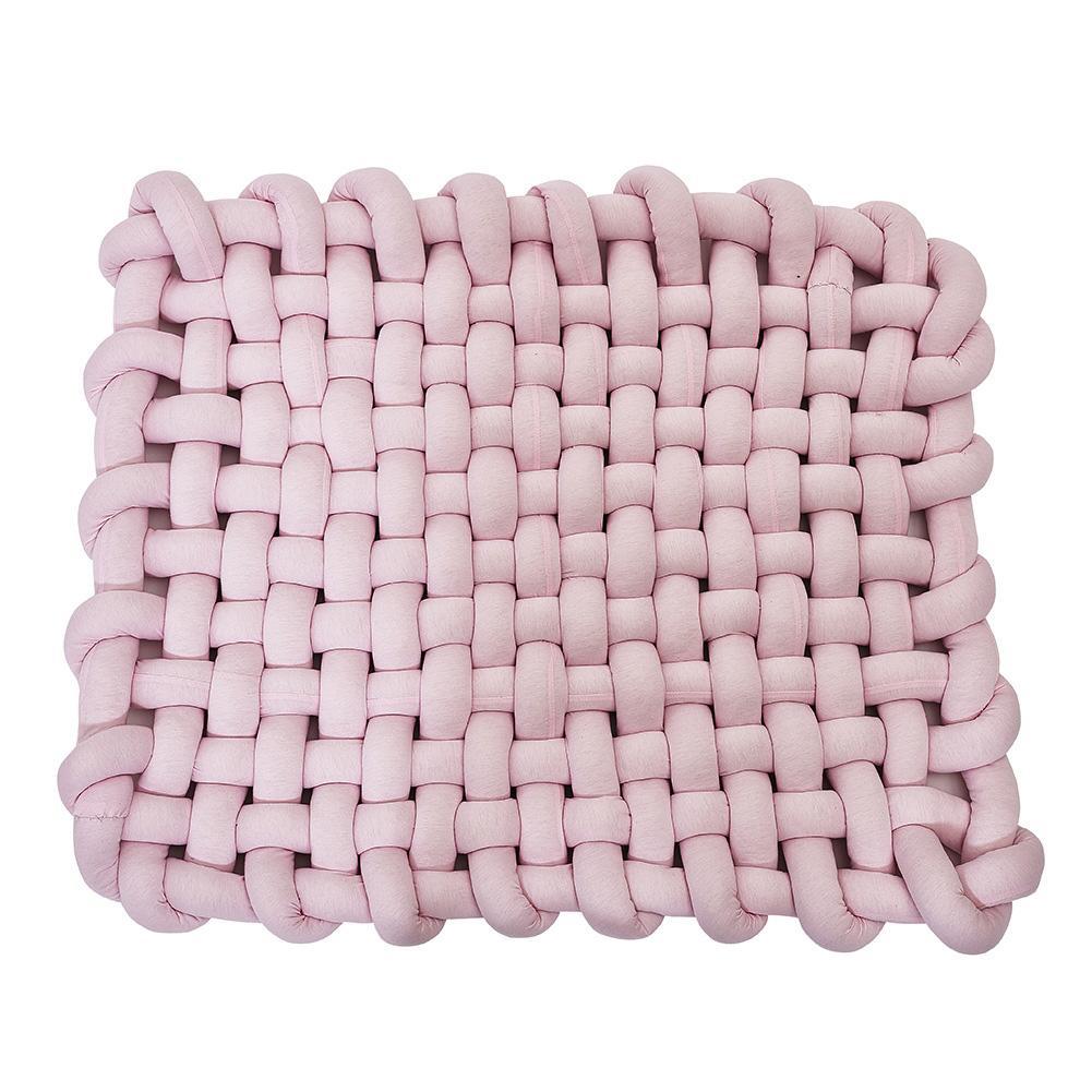 INS Style 45x45 cm tapis tissé à la main bébé ramper antidérapant bébé tapis de jeu coussin décoration de la maison accessoires de photographie jouets - 2