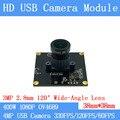 Gran Angular 120 grados de alta velocidad 330FPS/120FPS/60FPS Módulo de cámara USB 4MP Full HD 1080 P webcam UVC Plug Play sin conductor