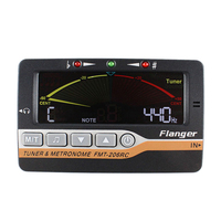 Flanger инструмент для настройки метроном и генератором тона 3 в 1 для всех инструментов-с гитарой, басами, скрипкой, укулеле и Chr