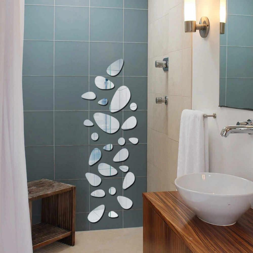 סלון חדר שינה מסעדה טלוויזיה רקע קישוט פבל קיר מדבקות מודרני אבן אבן מראה מדבקות בית תפאורה