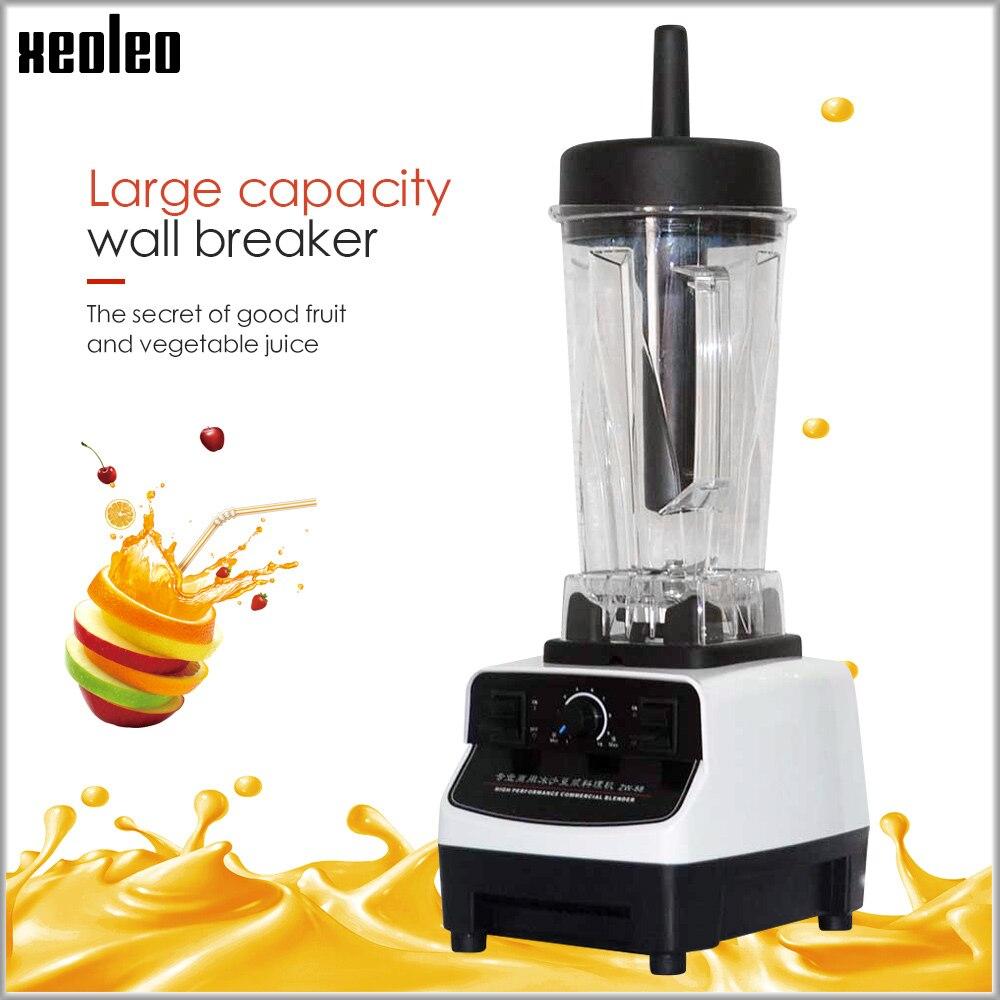 Кухонный блендер XEOLEO 2L, мощный блендер 1200 Вт, миксер 28000 об/мин, 220 ~ 240 В/110 В, блендер для сока