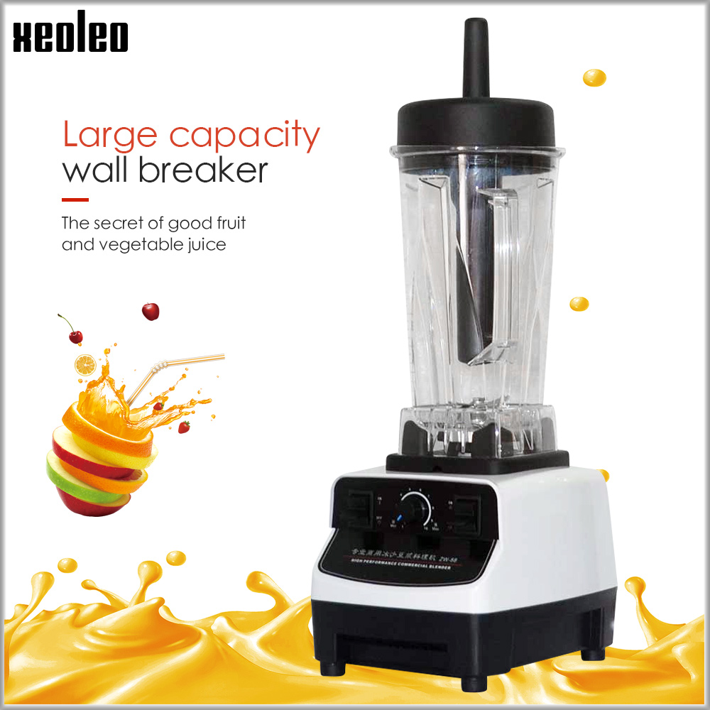 XEOLEO 2L Food blender Comemrcial Blender 1200W Heavy duty Blend mixer 28000r/min 220~240V/110V White Food processor Juice blendXEOLEO 2L Food blender Comemrcial Blender 1200W Heavy duty Blend mixer 28000r/min 220~240V/110V White Food processor Juice blend