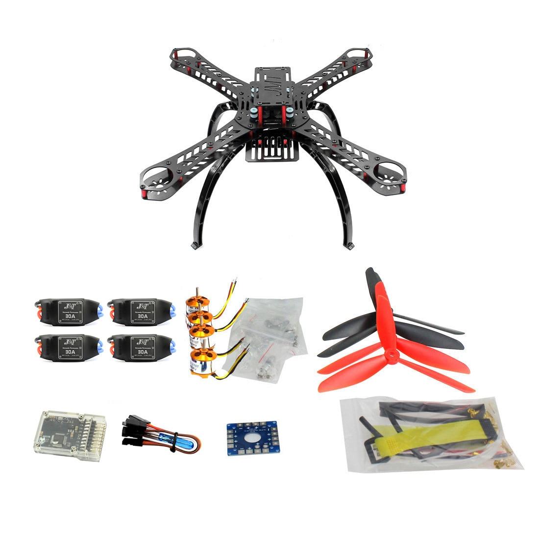 F14891 E DIY BNF Drone Multicopter Kit 310 mm Fiberglass Frame QQ SUPER Multi rotor Flight Control 1400KV Motor 30A ESC