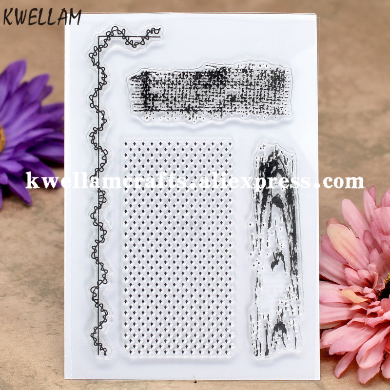 Us 3 3 8 Off Sewing Thread Wood Grain Scrapbook Diy Photo Cards Rubber Stamp Clear Stamp Transparent Stamp 10x15cm Kw8030521 In Stamps From Home