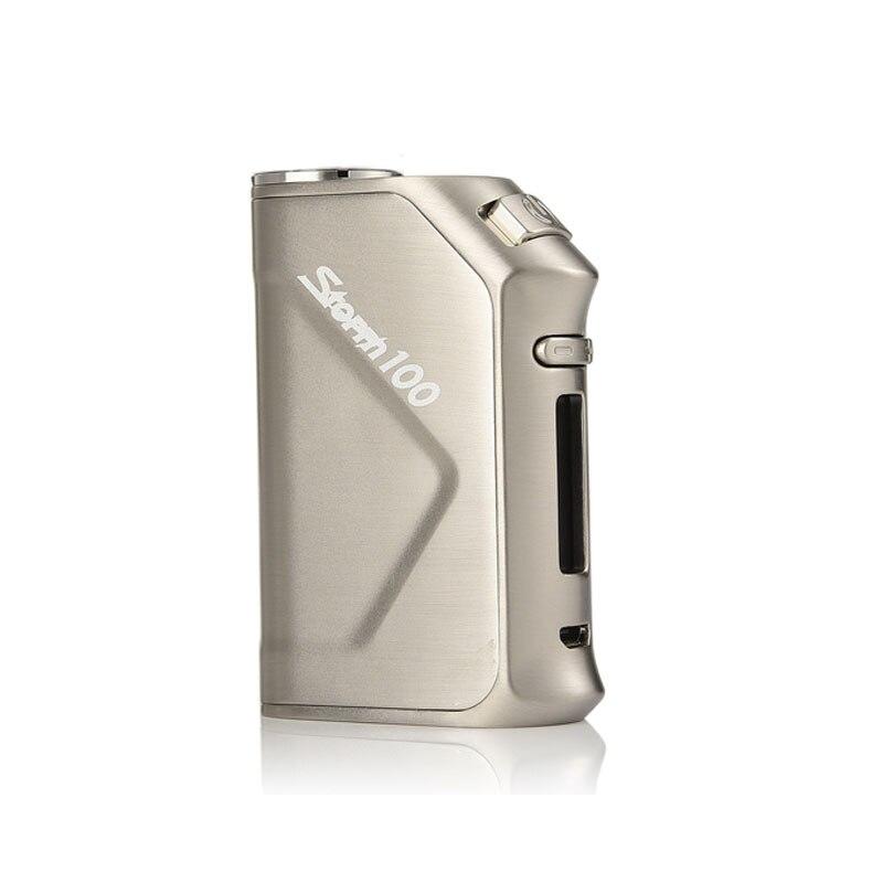 Vapeur tempête 100 W boîte Mod Vaper Storm100 TC 3200 mAh batterie intégrée Cigarette électronique puissante pour Vesta Tank RDA RTA atomiseur