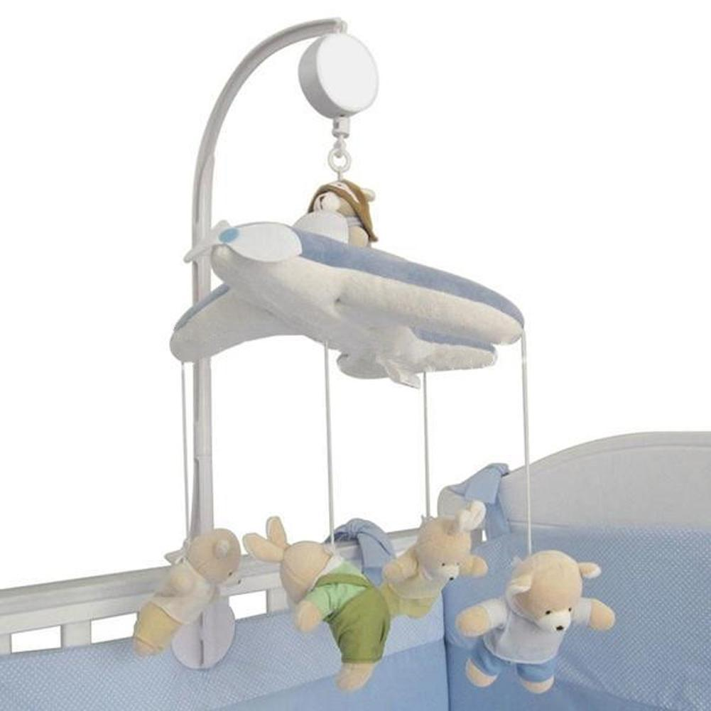 Baby Crib Mobile Bed Bell Toy Holder Arm Bracket Not Include Music Box OR Dolls Musical Educational Toy Mobiles Accessories