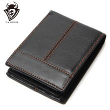 Fashion And Vintage Wallet For Man Wholesale China 100% Genuine Leather Mens Wallets