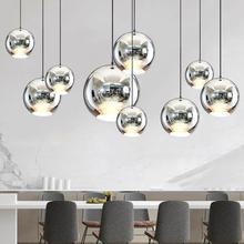 все цены на Nordic LED Pendant Lights Glass Pendant Lamps Loft Industrial Hanging Lamps Smoky Grey Lamparas De Techo Colgante Modern Lustre онлайн