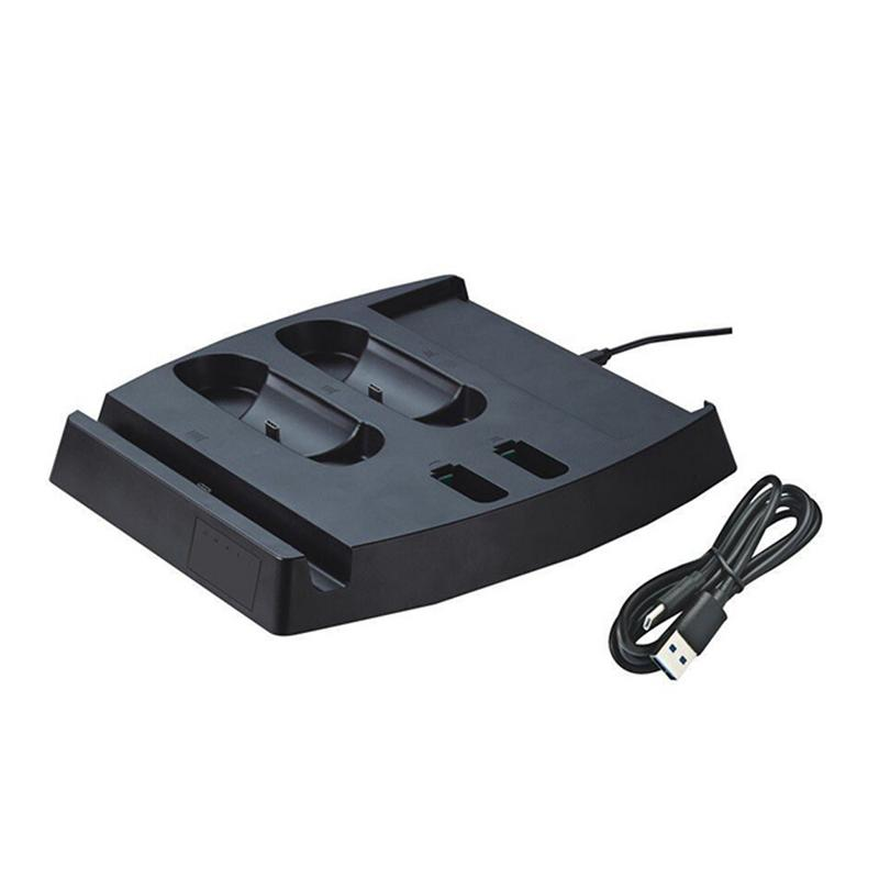 Charger Stand For NS Switch Multi-Function Charging Base Storage Bracket Game Console And Gamepad Charging