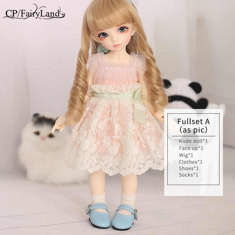 Bonecas BJD Fairyland Littlefee Ante Terno Fullset Luts YoSD 1/6 FL Napi Dollmore Sweetest Presente para Meninos e Meninas