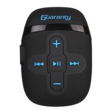 IPX8 reproductor de MP3 portátil, 8GB, resistente al agua, sin pérdidas, con Clip para auriculares, diseño para nadar, correr, bucear
